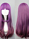 lolita peluca inspirada en gradiente elegante purpura 60cm princesa