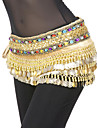 Belly Dance Belt Women\'s Polyester Coins / Sequins Gold Belly Dance / Performance Spring, Fall, Winter, Summer Natural 9.45inch(24cm)