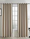 (Två paneler) klassiska jacquard rand Mörkläggning gardin