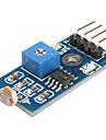 6495 fotomotståndet ljussensor modul för smarta bil (svart & blå)