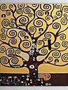 Hand-painted Oil Painting Abstract Tree of Life by Gustav Klimt