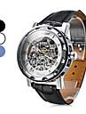Men\'s Watch Mechanical Skeleton Hollow Engraving