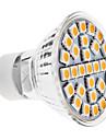 3W GU10 LED Spotlight MR16 29 SMD 5050 170 lm Warm White AC 100-240 V