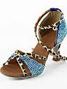 Scarpe da ballo - Non personalizzabile - Donna - Tipo di scarpe / Latinoamericano / Salsa - Tacco a rocchetto - Satin
