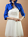 Wedding / Party/Evening Taffeta Coats/Jackets Half-Sleeve Wedding  Wraps