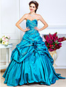TS Couture® Prom / Formal Evening / Quinceanera / Sweet 16 Dress - Open Back Plus Size / Petite A-line / Ball Gown / Princess Strapless / Sweetheart