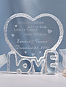 "Cake Toppers Personalized ""Love""  Cake Topper"