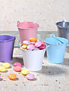 Metal Favor Pail – Set of 12 (More Colors)