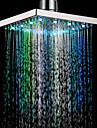 7 Colors Changing LED Contemporary Shower Faucet Head of 8 inch