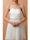 Impressionante Elastic cetim Belt casamento / Evening With Crystal & Beading (mais cores)