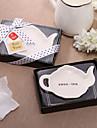 Lovely Teapot Shaped Ceramic Dish Favor