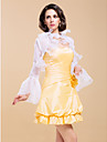 Wedding  Wraps Coats/Jackets Long Sleeve Organza As Picture Shown Wedding / Party/Evening Bell Sleeves Open Front