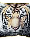 bengal tigermönster print Velet dekorativa kuddöverdrag