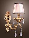 Kristall Vägglampetter,Traditionell/Klassisk E12/E14 Metall