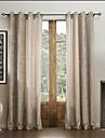 Deux Panneaux Le traitement de fenetre Moderne , Solide Viscose Materiel Rideaux Tentures Decoration d\'interieur For Fenetre