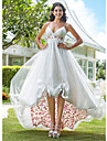 Lanting Bride® A-line / Princess Apple / Hourglass / Inverted Triangle / Pear / Rectangle / Plus Sizes / Petite / Misses Wedding Dress -