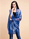 Scialli Sciarpe Cotone / Terital Azzurro cielo / Rosa perla Da sera
