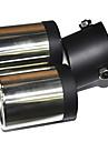 Universal Stainless Steel ljuddämpare för fordon Avgasrör (63mm-Inre diameter) LMC-M-041