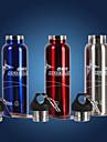 Cykel Vattenflaskor Cykel Värmebevarande Röd / Blå / silvrig Rostfritt stål