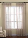 Två paneler Fönster Behandling Rustik / Modern / Nyklassisistisk / Rokoko / Europeisk / Designer , Solid Living Room