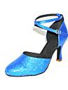 personnalisés mousseux chaussures glitter danses latines / salle de bal (plus de couleurs)