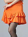 Dancewear Sexy Viscose and Satin Latin Dance Skirt for Ladies(More Colors)