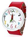 pentru Doamne Ceas La Modă Quartz PU Bandă Desene Animate Roșu