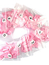 500 Pro Pink French False Acrylic Nail Art Tips