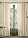 Two Panels  Jacquard Floral Classic Energy Saving Curtain