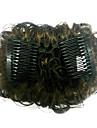 Top Grade kvalitet syntetisk Darkest Brown Hair Wraps