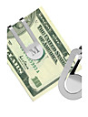 Gift Groomsman Personalized Hollowed-out Stainless Steal Money Clip