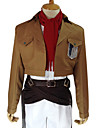 "Attack on Titan Mikasa Ackerman ""Survey Corp""-uniform anime cosplaykostuum"