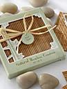 Naturligt bambu Miljövänligt Coaster Favors