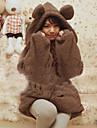 Femei Ursul Fleece Coat