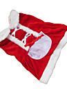 Chien Robe Rouge Vetements pour Chien Hiver Noeud papillon Noel / Nouvel An