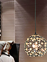 Pendant Light ,  Modern/Contemporary Globe Electroplated Feature for Crystal Mini Style Metal Bedroom Dining Room