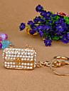 Portafoglio portachiavi a forma di con la perla