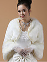 Party/Evening / Casual Lace / Faux Fur Coats/Jackets Long Sleeve Fur Wraps