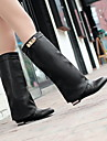 scarpe da donna chiuso toe tacco stivali alti al ginocchio piu colori disponibili