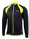 Maillot Cyclisme Velo manches longues Homme 100% polyester l\'hiver Santic hommes