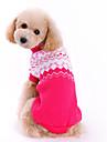 Câini Pulovere Trandafiriu Îmbrăcăminte Câini Iarnă Primăvara/toamnă Nod Papion Drăguț Modă