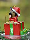 Drăguț Ciobanesc german Ornament decorative Cadou de Crăciun pentru iubitorii de animale de companie