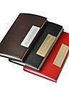 Personlig PU läder formell stil Graverad Visitkortshållare (blandade färger)