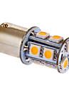 BA15s / 1156 3W 13x5050smd 117lm 3000-3500k varmvitt ljus LED-lampa för bil (DC 12V)