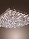 Crystal Beaded Taklampa med 45 Färgstark lysdioder och 12 G4 baser