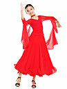 Dancewear Viscose And Tulle Dance Dress For Children(More Colors)