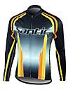 השרוול ארוך ג\'רזי / מעיל רכיבה על אופניים רכיבה על אופניים 100% פוליאסטר החורף של santic-גברים
