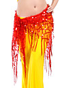 Dancewear Polyester Belly Dance Belt With Tassels For Ladies(More Colors)