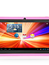 "A33 8GB 7 ""kapacitiv android 4.4 dubbla kamera wifi tablet pc rosa bunt fall"