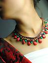 Frauen tibetischen urspruengliche Kristall Boehmen Halskette
